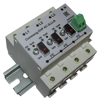 УЗИП для электроустановок переменного тока Commeng OVP AC